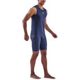Skins Series-3 Tank Top Herren navy blue
